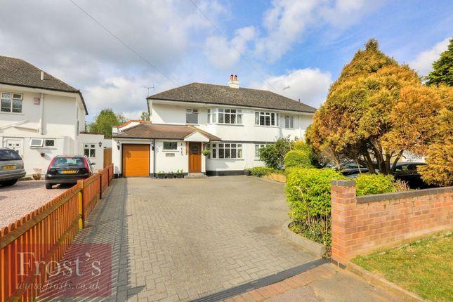 Thumbnail Semi-detached house for sale in Ellenbrook Lane, Hatfield