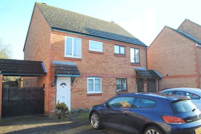 Thumbnail Semi-detached house for sale in Bradfield Close, Rushden
