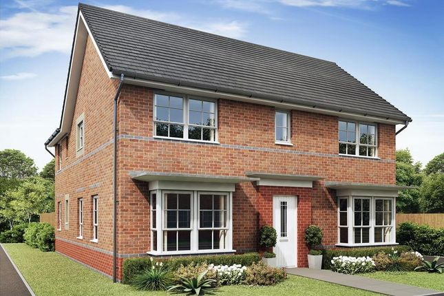 "Thumbnail Detached house for sale in ""Alnmouth"" at The Ridge, London Road, Hampton Vale, Peterborough"