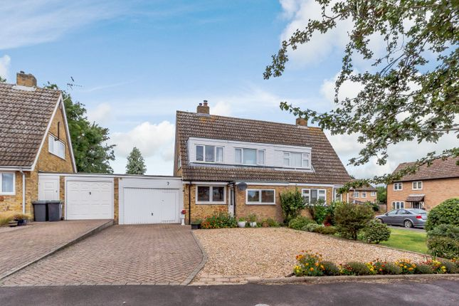 Thumbnail Semi-detached house for sale in Chase Close, Arlesey