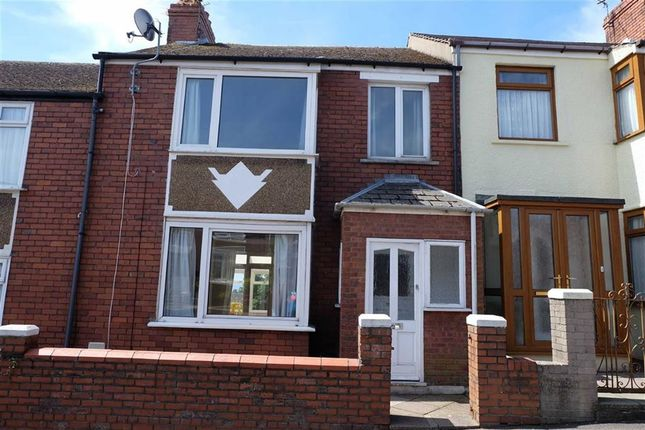 Thumbnail Terraced house for sale in Trinity Street, Barry, Vale Of Glamorgan