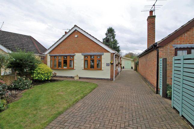 Thumbnail Detached bungalow for sale in Trentham Gardens, Burton Joyce, Nottingham