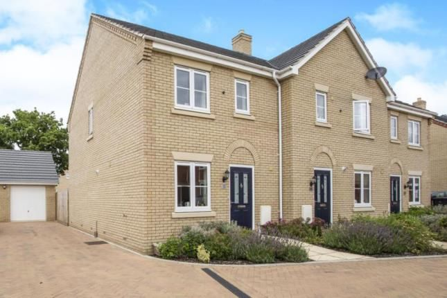 Thumbnail End terrace house for sale in Off Richmond Road, Downham Market, Norfolk