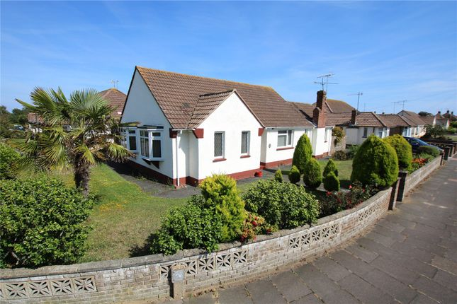 Thumbnail 3 bed bungalow for sale in Strathmore Road, Worthing, West Sussex