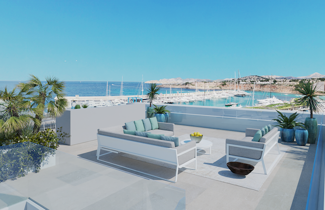 Thumbnail Villa for sale in Port Adriano, Calvià, Majorca, Balearic Islands, Spain