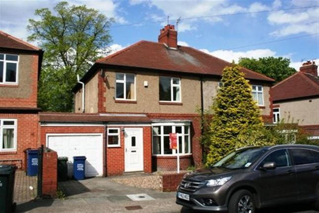 Thumbnail Semi-detached house to rent in Grosvenor Avenue, Jesmond, Newcastle Upon Tyne