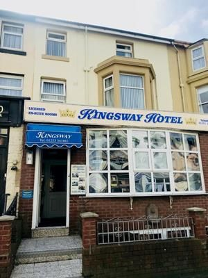 Thumbnail Hotel/guest house for sale in Kingsway Hotel, 11 Trafalgar Road, Blackpool