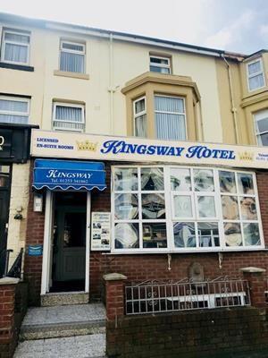 Thumbnail Hotel/guest house for sale in Kingsway Hotel, 11 Trafalgar Road, Blackpool