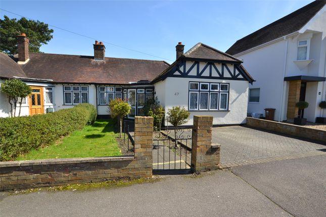 Thumbnail Semi-detached bungalow for sale in Rectory Lane, Wallington, Surrey