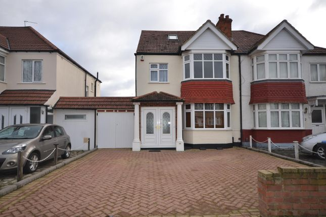 Thumbnail Semi-detached house to rent in St Augustines Avenue, Wembley, Middlesex