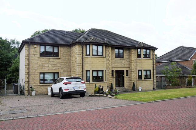 Thumbnail Detached house for sale in Faulkner Grove, Motherwell, Lanarkshire