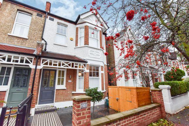 Thumbnail End terrace house for sale in Alverstone Avenue, Wimbledon Park