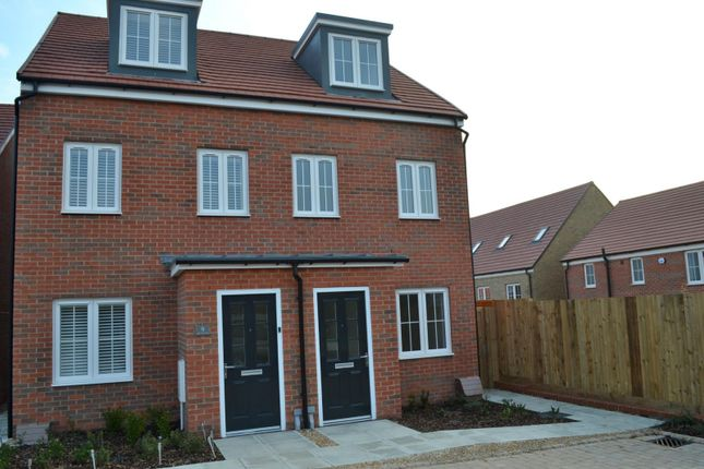 Thumbnail Semi-detached house to rent in White Clover Close, Stone Cross, Pevensey