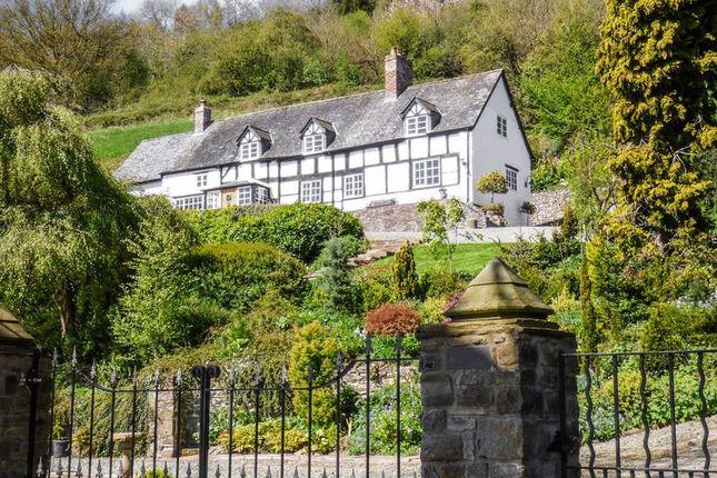 Thumbnail Detached house for sale in Llanfechain