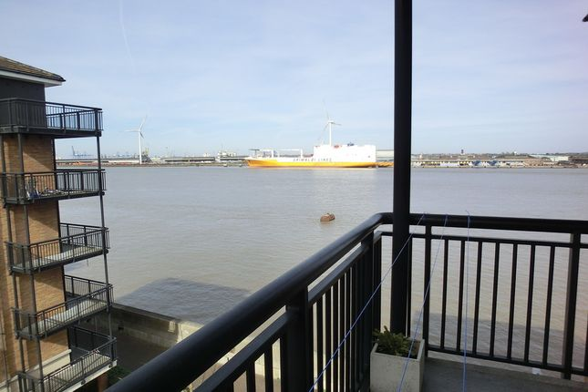 Thumbnail Flat to rent in Clifton Marine Parade, Baltic Wharf, Gravesend