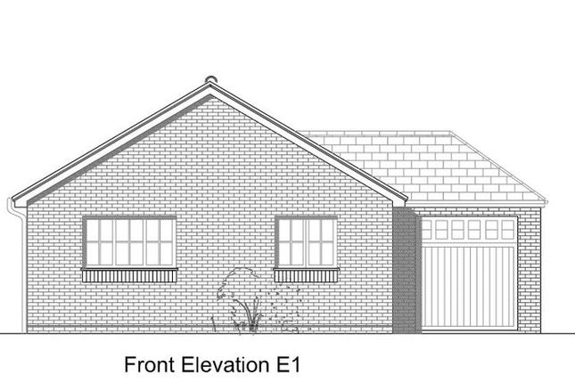 Thumbnail Bungalow for sale in Plot 3 The Orchard, Vineyard Place, Wellington, Telford