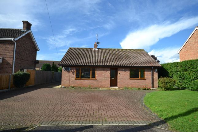 Thumbnail Detached bungalow for sale in Vong Lane, Pott Row, King's Lynn