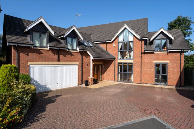 Thumbnail Detached house for sale in Limes Close, Leicester, Leicestershire