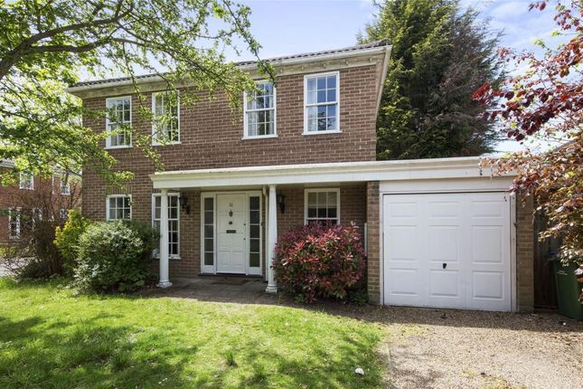 Thumbnail Detached house for sale in Stoneleigh Park, Weybridge, Surrey