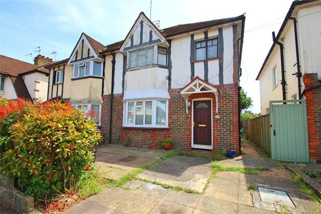Thumbnail Flat for sale in Westland Avenue, Worthing, West Sussex