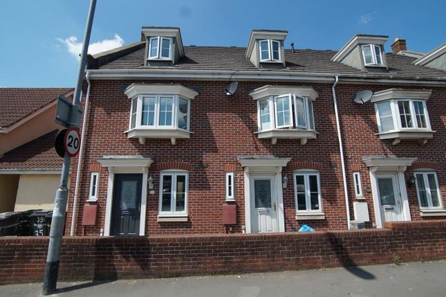 Thumbnail End terrace house to rent in Lodge Road, Kingswood, Bristol