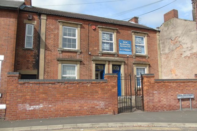 Thumbnail Office for sale in 9-10 Havelock Street, Ilkeston