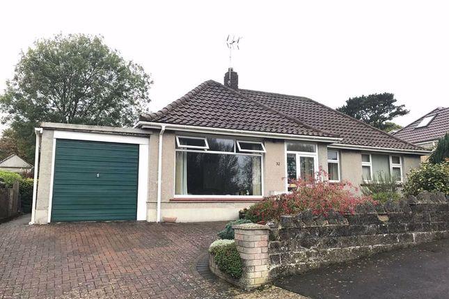 Thumbnail Detached bungalow for sale in Glynderwen Close, Derwen Fawr, Swansea