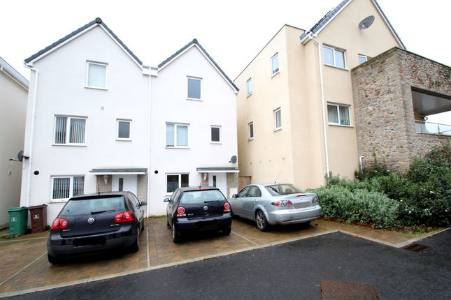 Thumbnail Semi-detached house to rent in Temple Walk, Plymouth