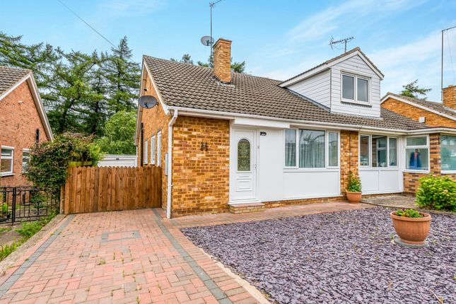 Thumbnail Semi-detached bungalow for sale in Sherwood Avenue, Kingsthorpe, Northampton