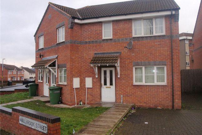 Thumbnail Flat to rent in Edge Street, Bilston