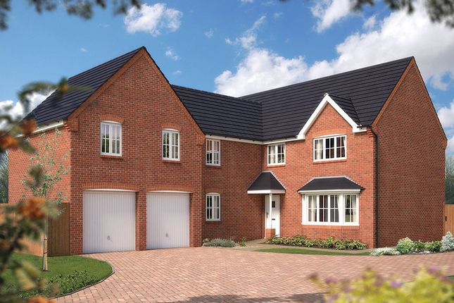 "Thumbnail Detached house for sale in ""The Birkenshaw"" at Tixall Road, Tixall, Stafford"