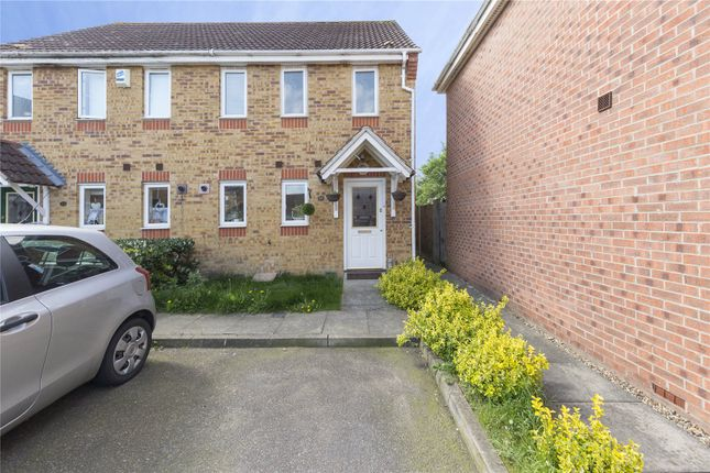 Thumbnail End terrace house for sale in Lister Tye, Chelmsford, Essex