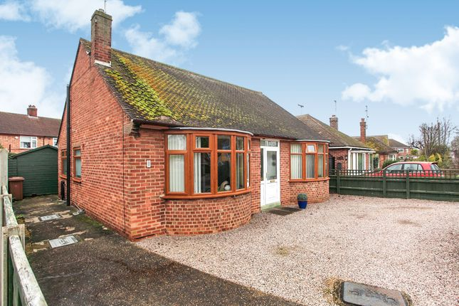 Thumbnail Detached bungalow for sale in Lammas Road, Peterborough