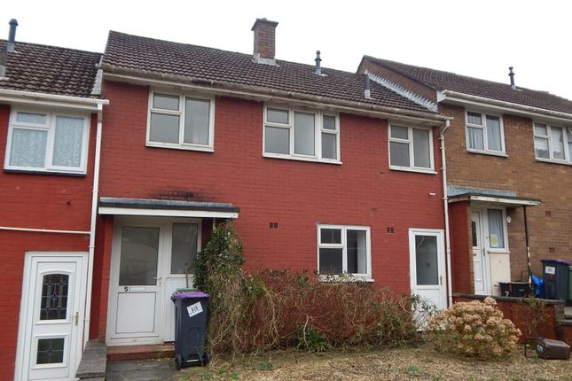Thumbnail Terraced house to rent in Heol Newydd, Upper Cwmbran, Cwmbran