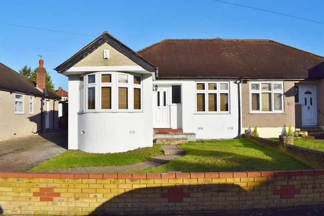 Thumbnail Semi-detached bungalow for sale in Sutherland Avenue, Welling, Kent