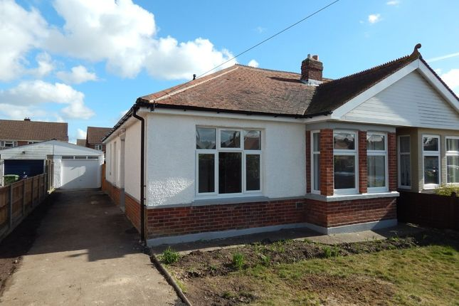 Thumbnail Semi-detached bungalow for sale in Carshalton Avenue, Drayton, Portsmouth