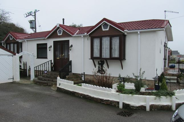 Thumbnail Mobile/park home for sale in Orchard Park, Station Road (Ref 5527), Bugle, St Austell, Cornwall