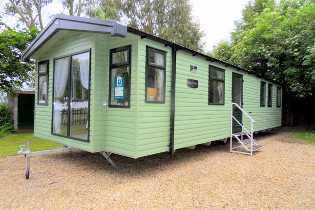 Front of Silverhill Holiday Park, Lutton Gowts, Lutton, Spalding, Lincolnshire PE12