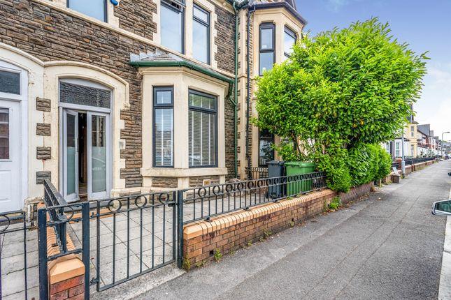 Thumbnail Terraced house for sale in De Burgh Street, Cardiff