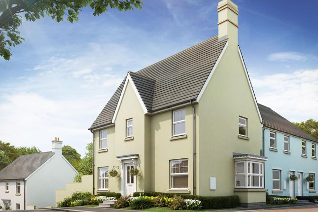"Thumbnail Detached house for sale in ""Morpeth"" at Bevans Lane, Pontrhydyrun, Cwmbran"
