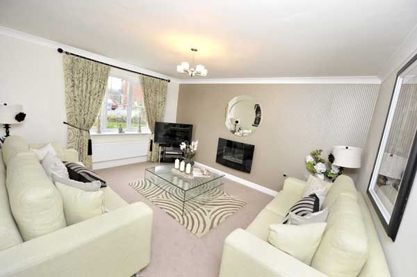 "Thumbnail Detached house for sale in ""Cherryburn"" at Cottonwood Close, Bamber Bridge, Preston"