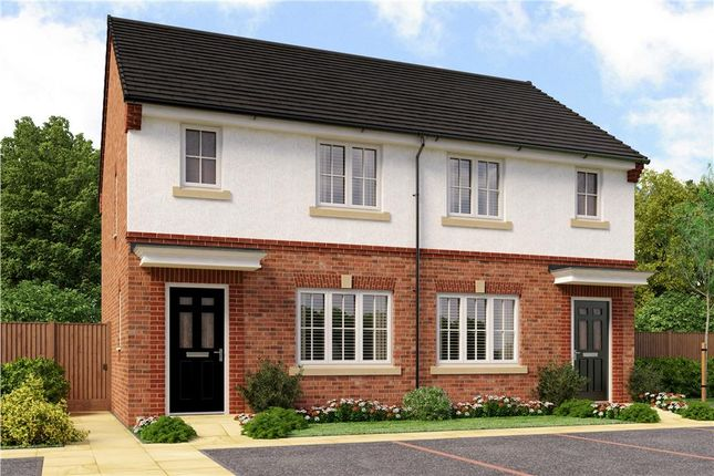 "Thumbnail Semi-detached house for sale in ""Yare"" at Aberford Road, Wakefield"