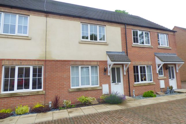 2 bed terraced house to rent in Galba Road, Caistor, Market Rasen LN7