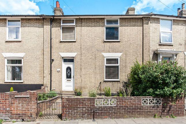 Thumbnail Terraced house for sale in Norwich Road, Ipswich