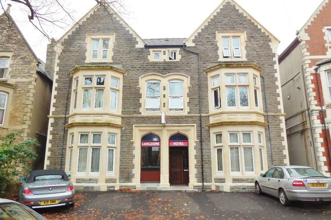 Thumbnail Hotel/guest house for sale in Richmond Road, Roath, Cardiff