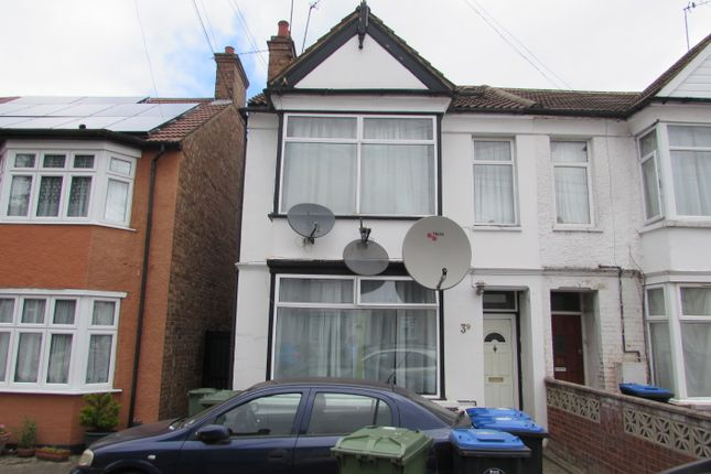 Thumbnail Semi-detached house for sale in Central Road, Wembley