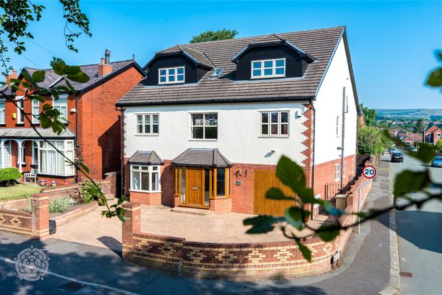 Thumbnail Detached house for sale in Markland Hill Lane, Bolton