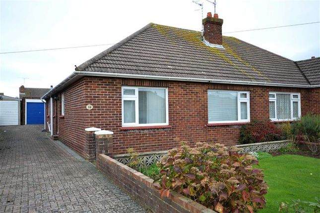 Thumbnail Semi-detached bungalow for sale in Rackham Road, Worthing, West Sussex