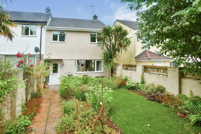 Thumbnail End terrace house for sale in Churchill Walk, Saltash, Saltash