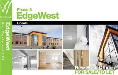 Thumbnail Commercial property for sale in Edge West Office Park, Ruston Way, Lincoln, Lincolnshire